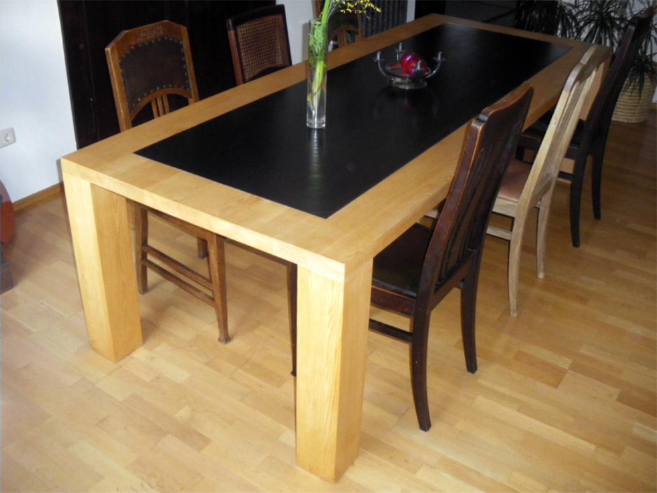 Möbeltischler Dresden tisch mit stahlplatte möbel tischler dresden