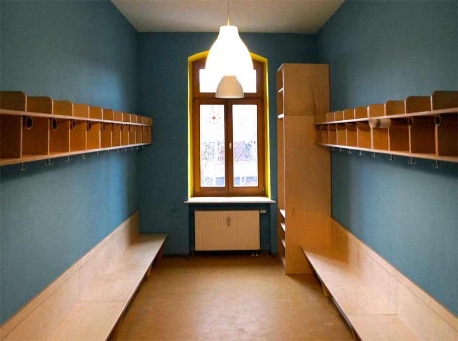 Tischler In Dresden garderobe für kindertagesstätte möbel tischler dresden